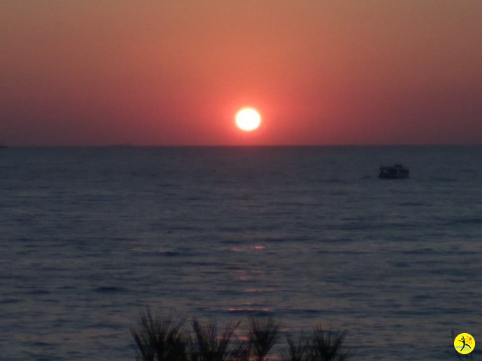 Солнце в закате