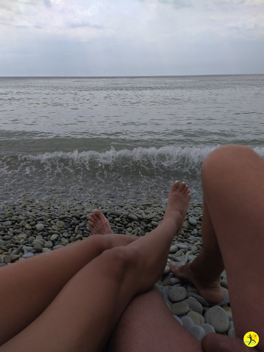 Отдыхаем на пляжу..