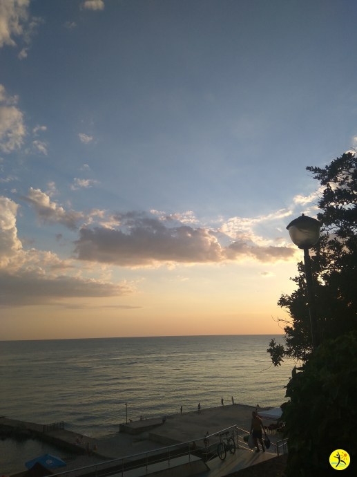 Дивный закат