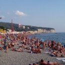 Столпотворение на центральном пляже