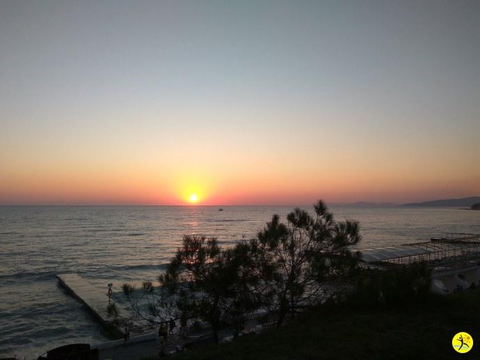 Дивноморский закат