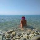 В море,на пляже)