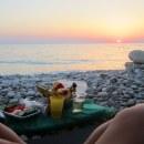 На любимом пляже)