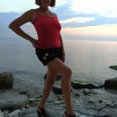 Вечером на пляже..