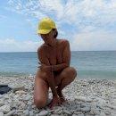 На пляже в августе)