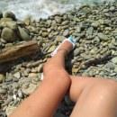 Ножки на пляже