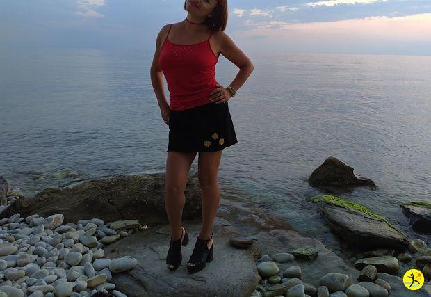 На море)