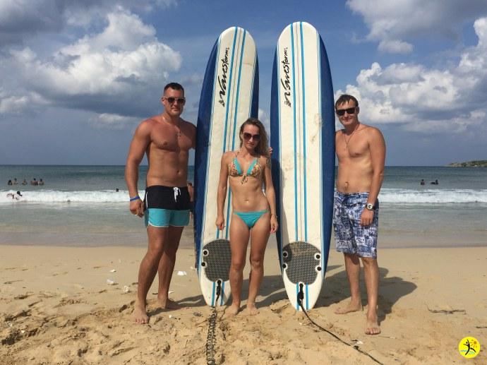 Серфинг на карибах